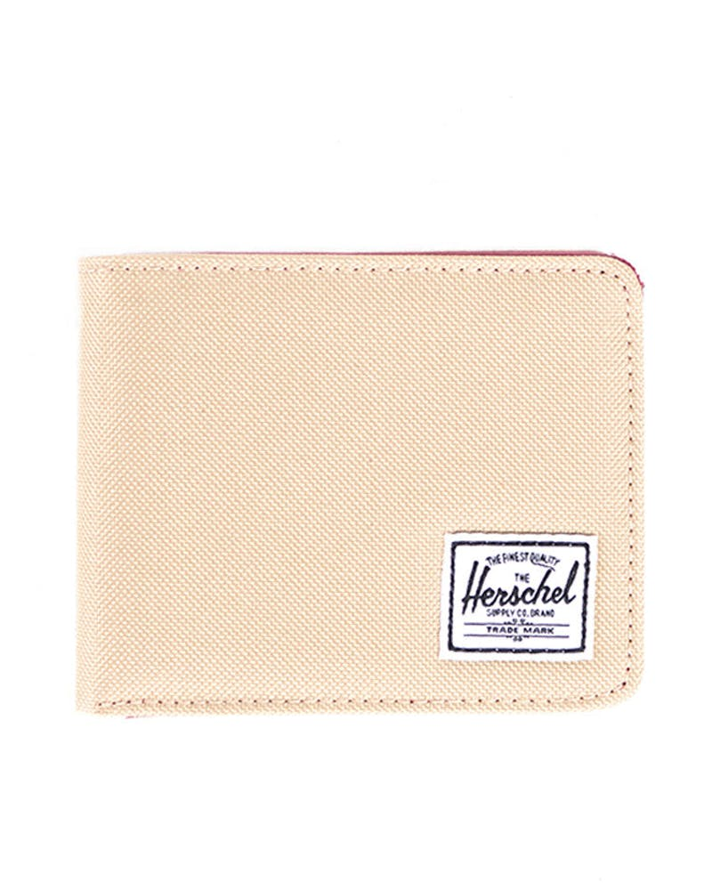 Hank Wallet Khaki/burgundy