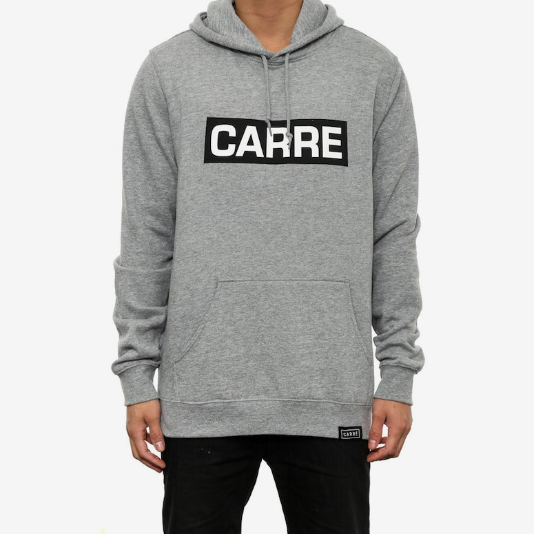 Boite Long Sleeve Hoody Grey