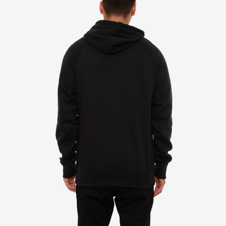 Jumpman Brushed F/z Hood Black/red
