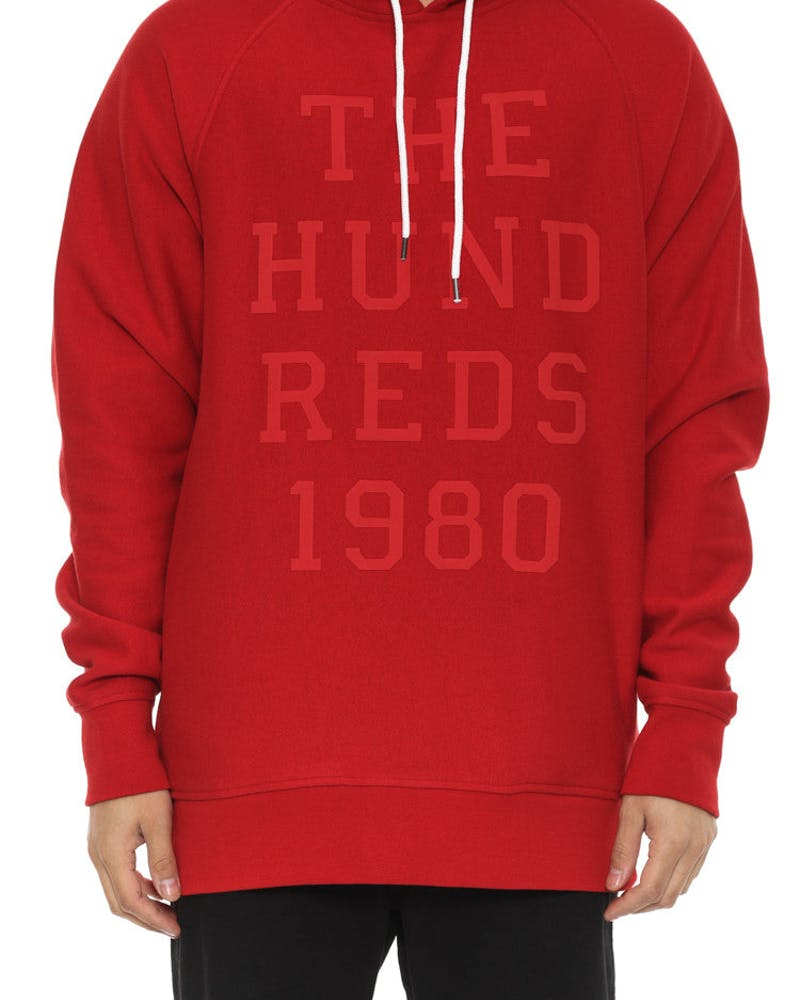 Levy Pullover Hood Red