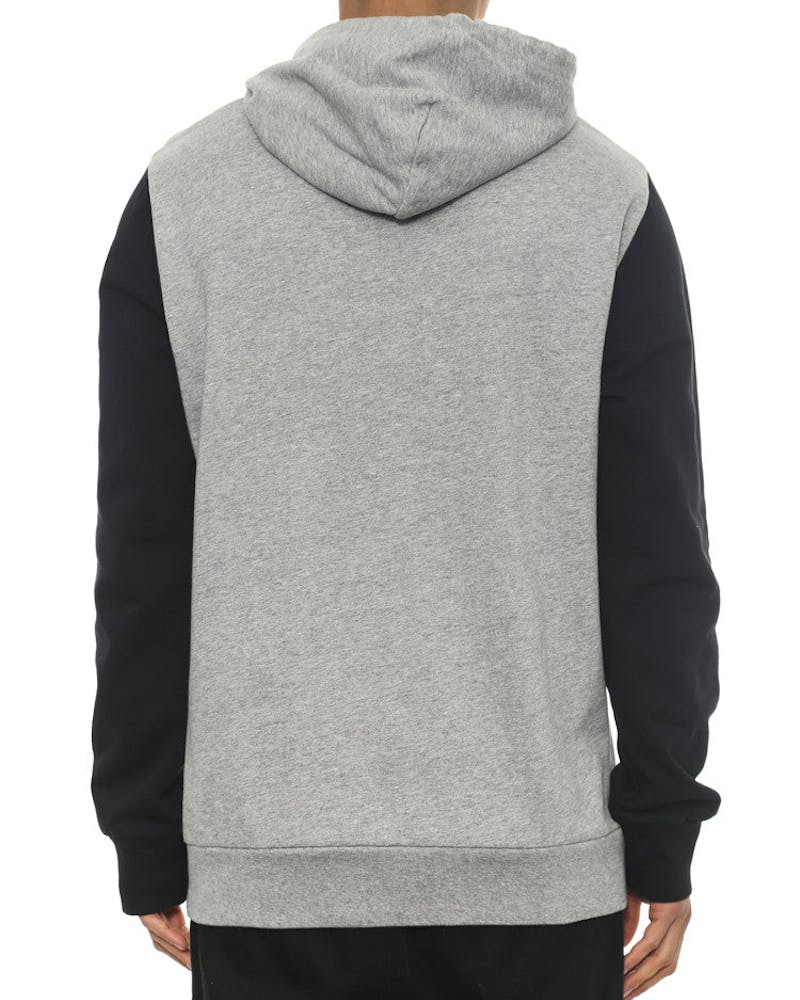 League Hood Grey Heather/bl