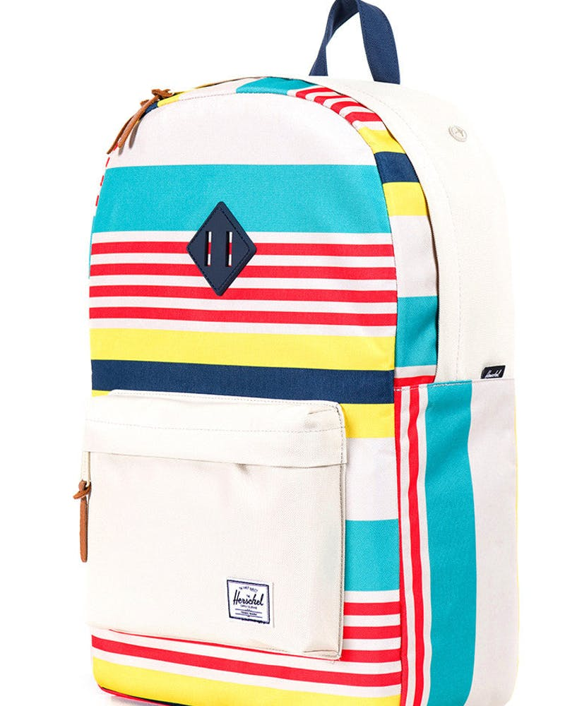Heritage W Rubber Finish White/blue/red/