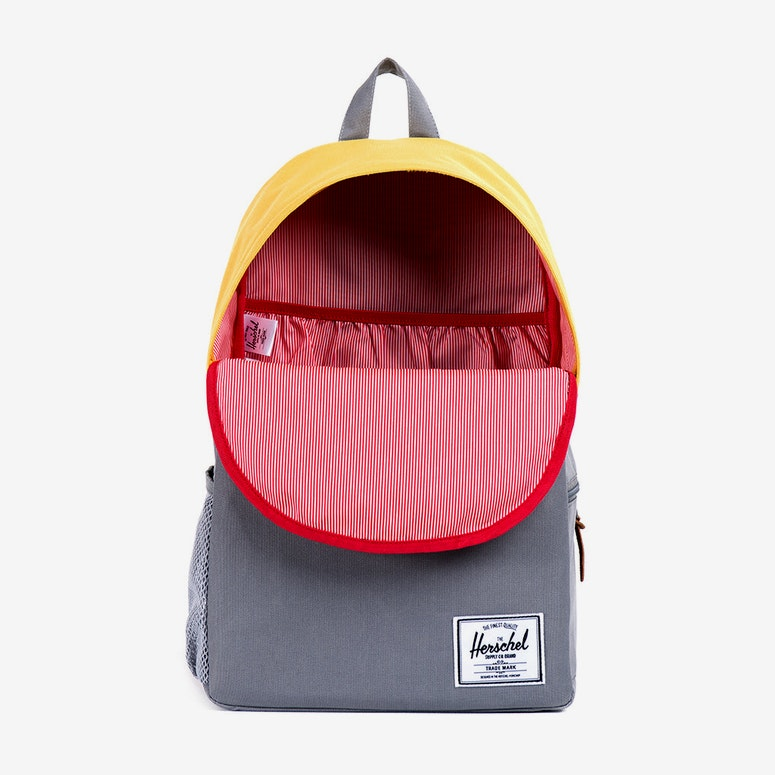 Jasper Backpack Grey/yellow