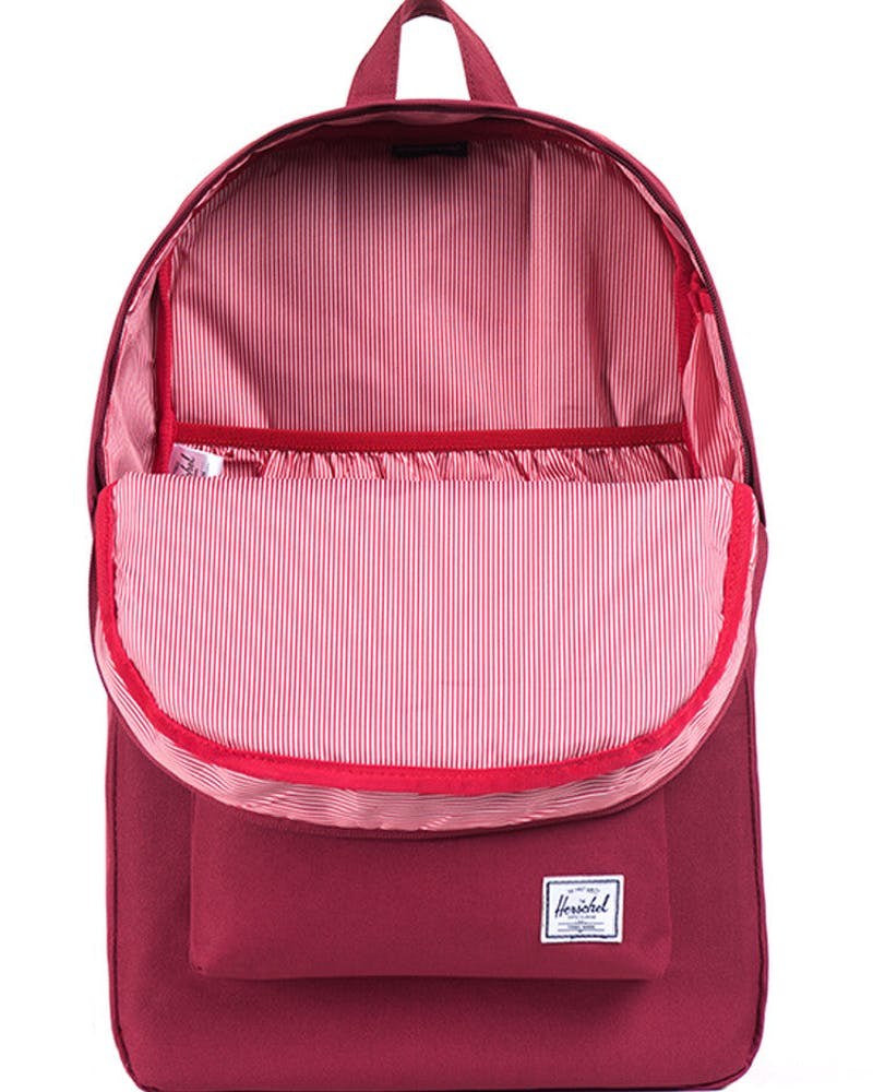 Heritage Backpack 2 Burgundy/white