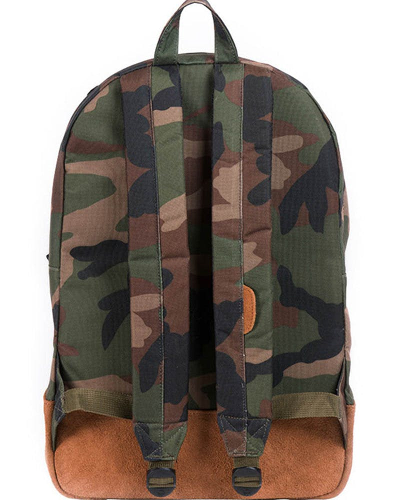Heritage Suede Backpack Camo/brown
