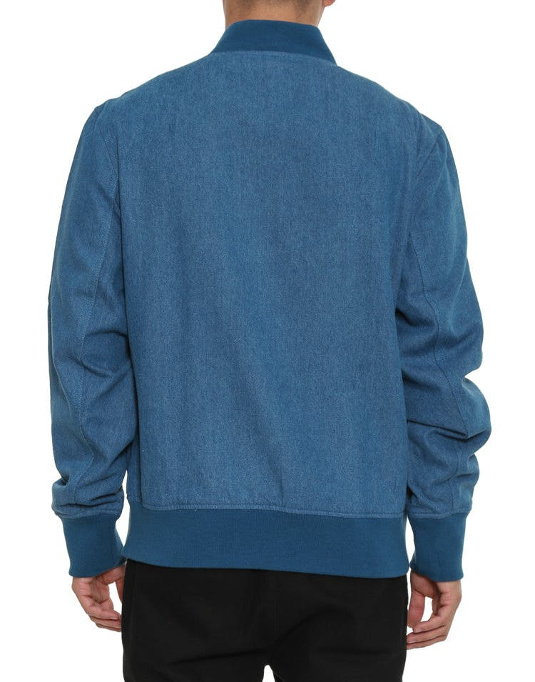Ma-1 Bomber Jacket Denim