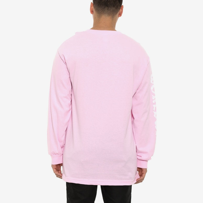 Paisley Worldwide Long Sleeve Tee Pink