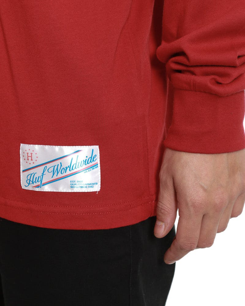 Home Field Long Sleeve Shirt Red