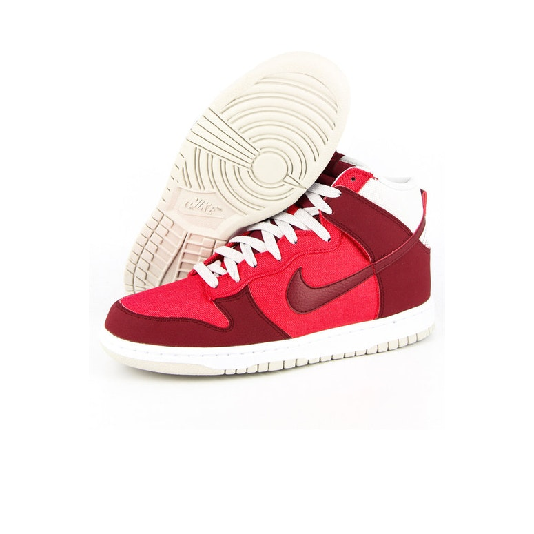 Dunk HI Red/crimson/whi
