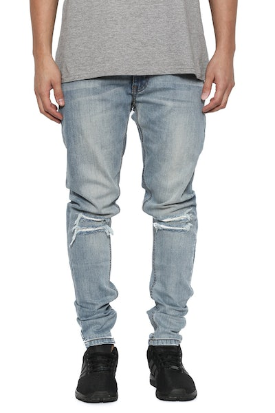 Hibrid Slim Jeans Light Blue