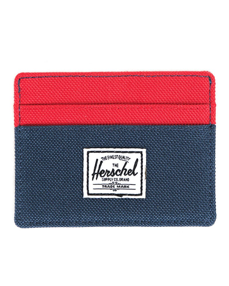Charlie Wallet Navy/red