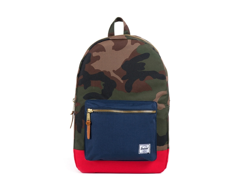 Settlement Backpack Camo/navy/red