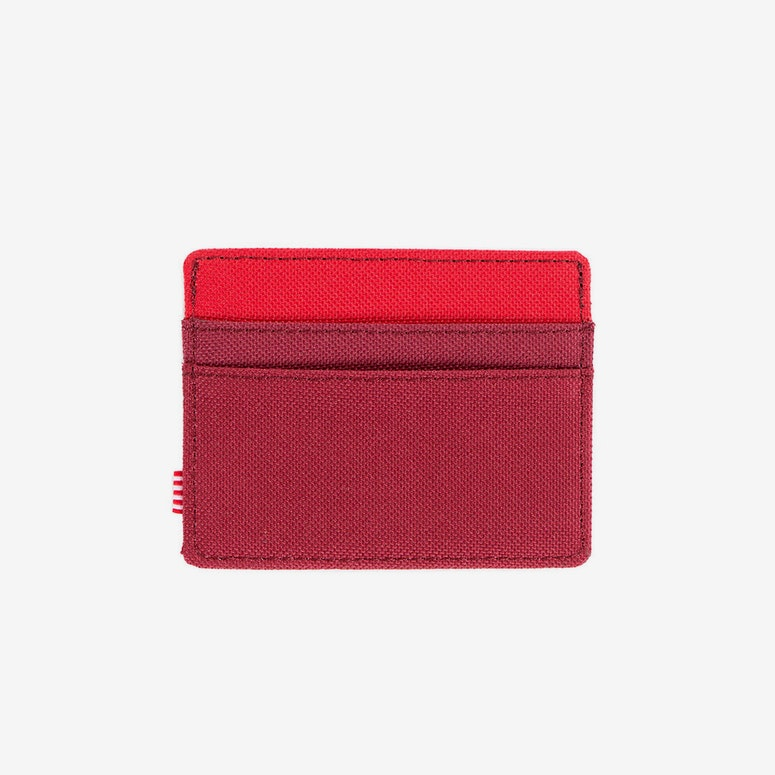 Charlie Wallet Burgundy/red