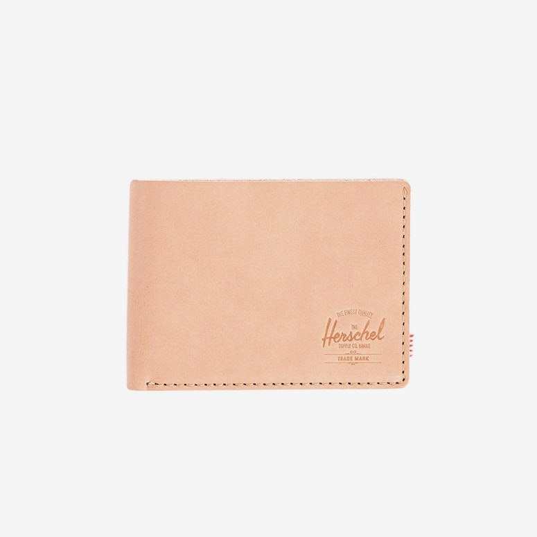 Miles Leather Wallet Cream