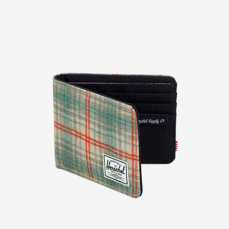 Royal Wallet Grey/green/oran
