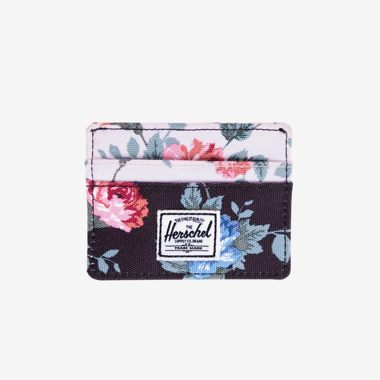 Charlie Wallet White/navy/flor