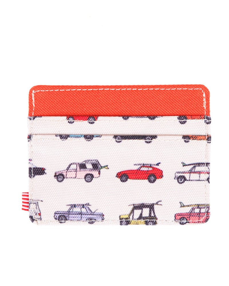 Charlie Wallet Red/white