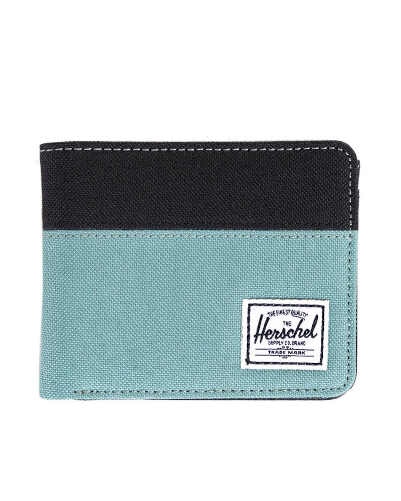 Hank Wallet Black/light Blu