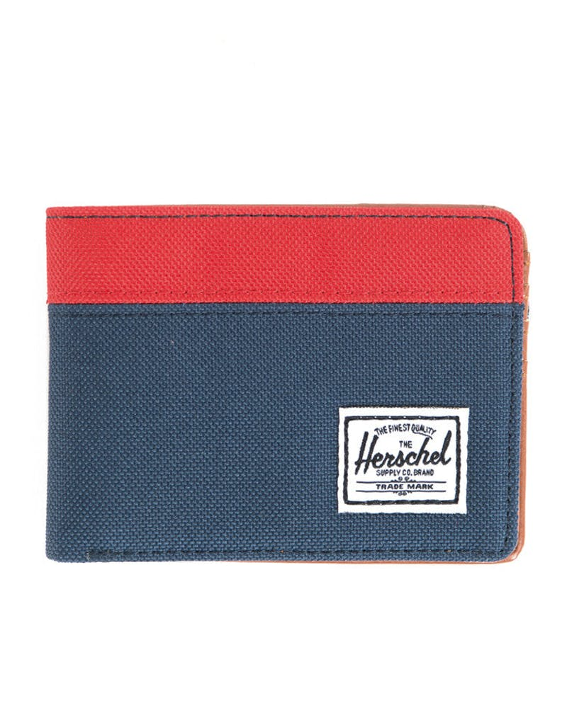Hank Wallet Navy/red
