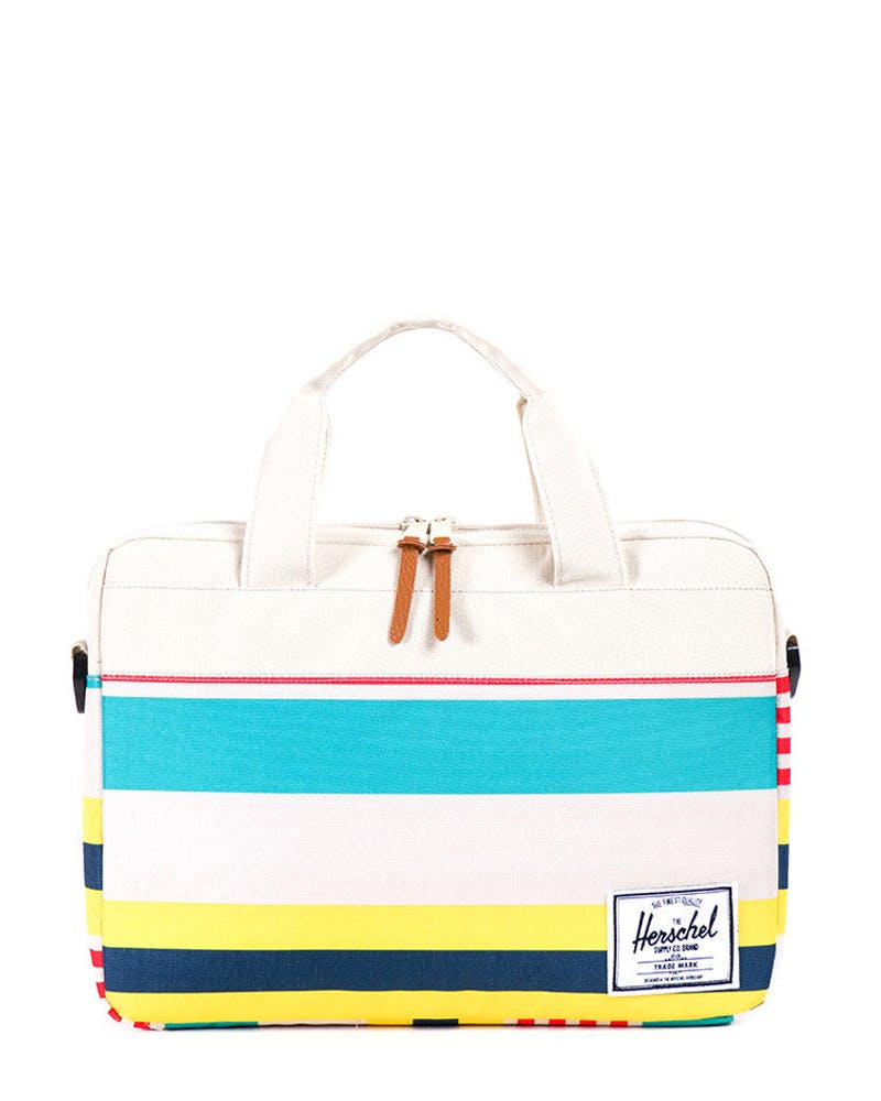 Hudson Messenger White/blue/yell