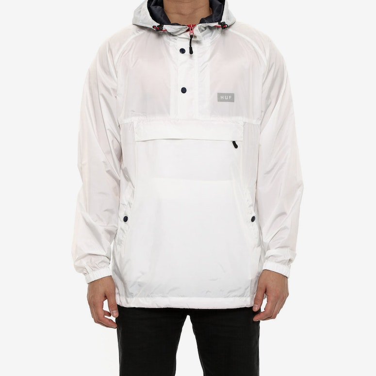 Adapt Packable Anorak Jacket White