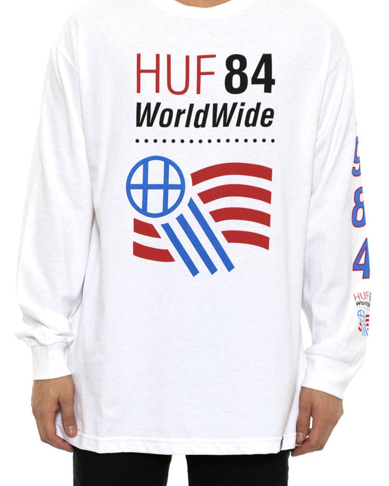 1984 Long Sleeve Tee White