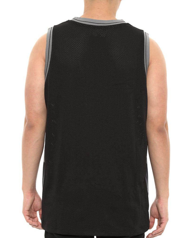 Division Basketball Jersey Black
