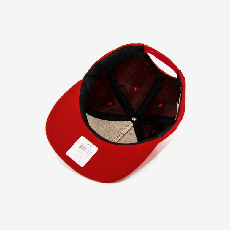 Box Logo Snapback Red/black