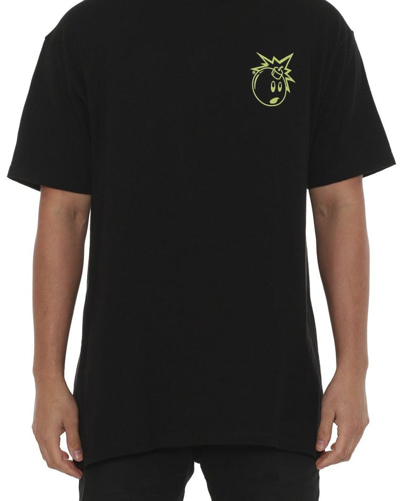 Simple Adam Tee Black