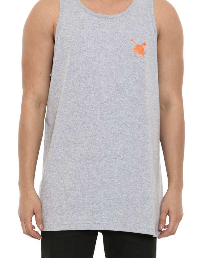 Bubble Tank Grey