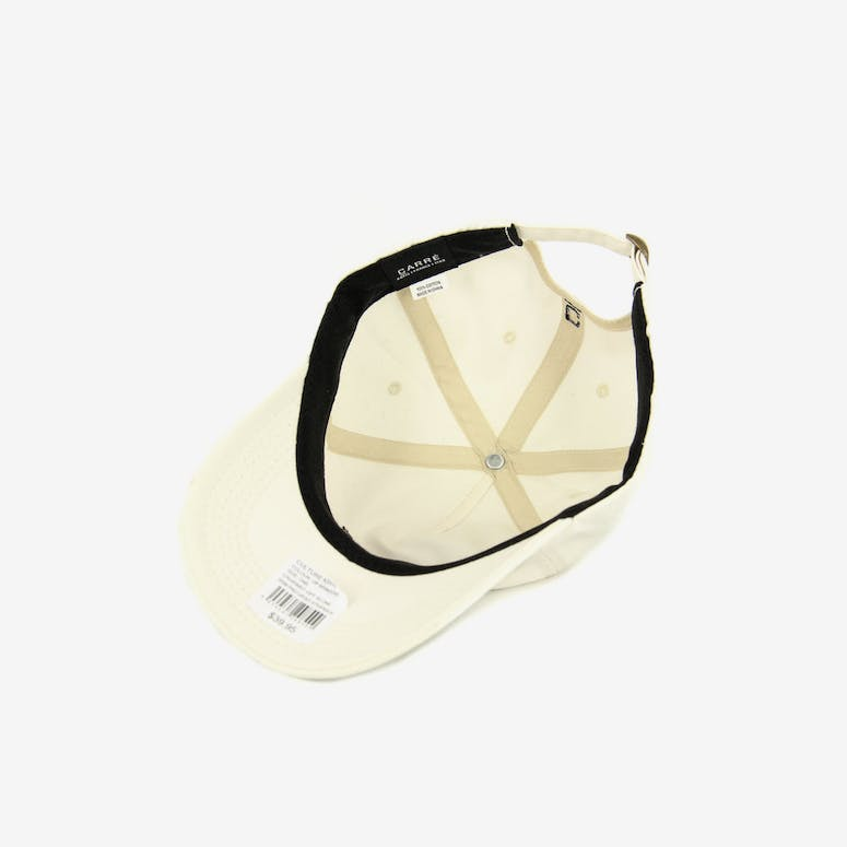Grim Precurved Strapback Off White