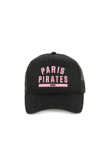 Paris Pirates Trucker Pink/black