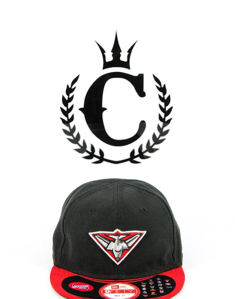 new concept f5c5a d7e17 New Era X AFL Essendon Bombers MY 1st Navy red – Culture Kings