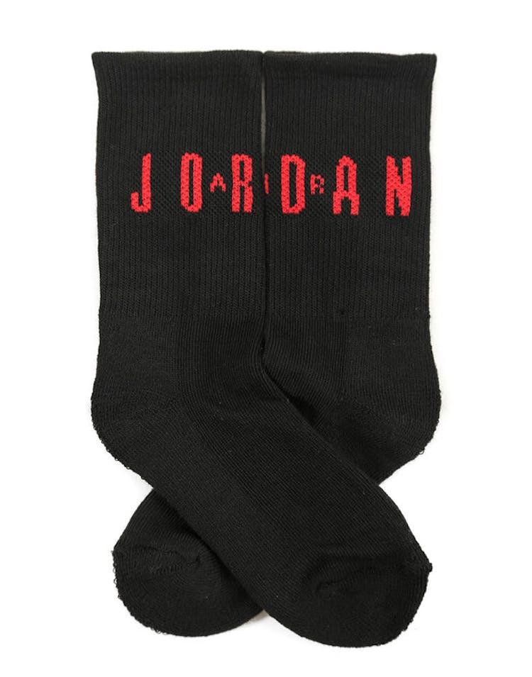 Air Jordan Crew 2P Sock White/black