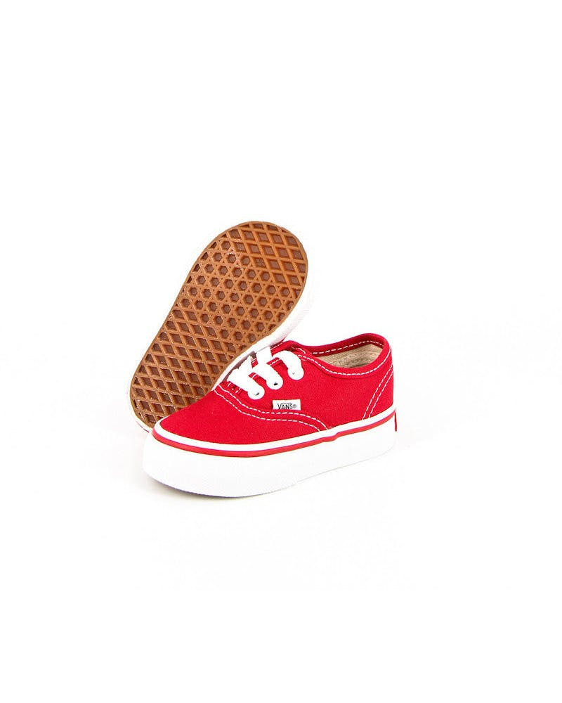Vans Toddler Red