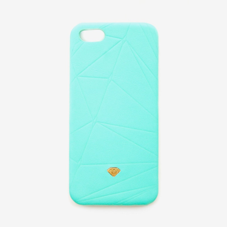Iphone Case Leather Blue