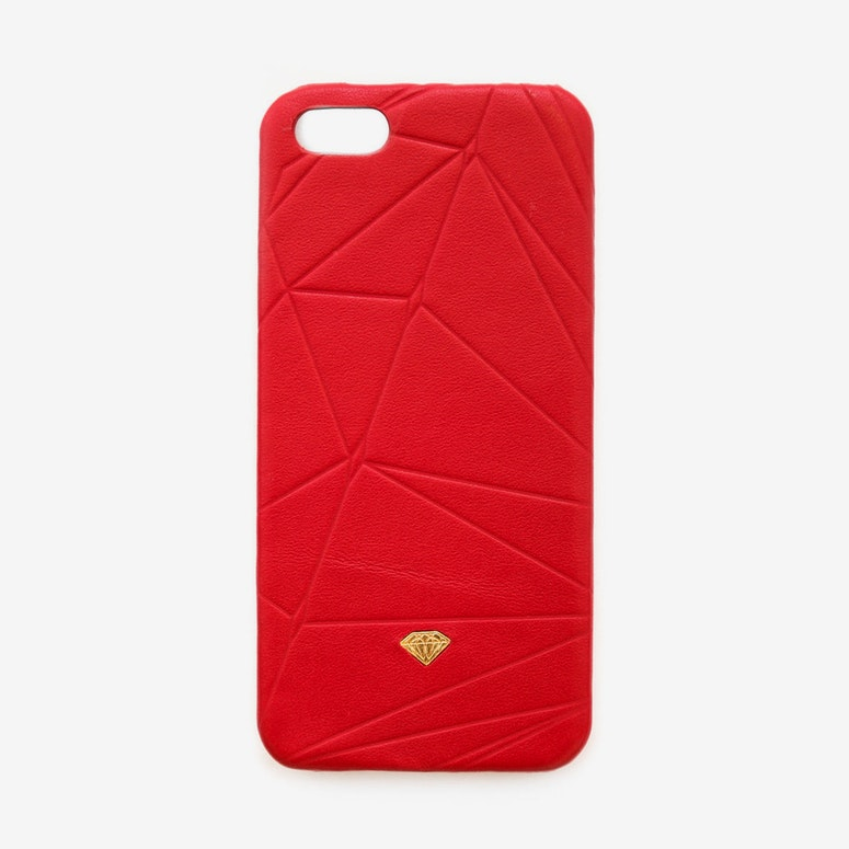 Iphone Case Leather Red
