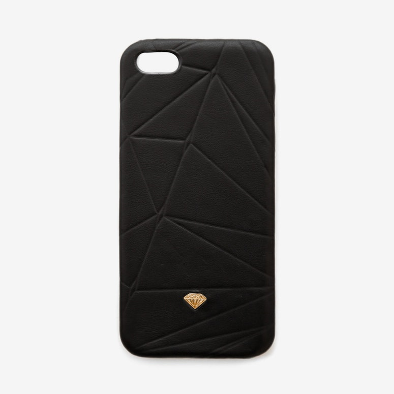 Iphone Case Leather Black