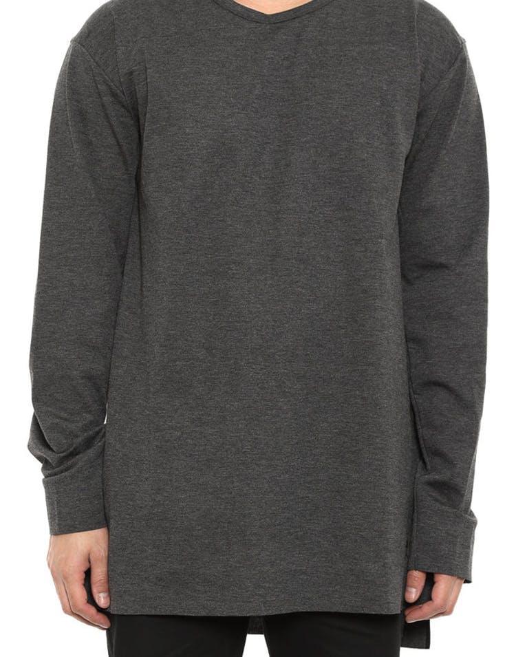 087c633087d188 Jordan 23 Lux Extended Long Sleeve Black Heather b – Culture Kings