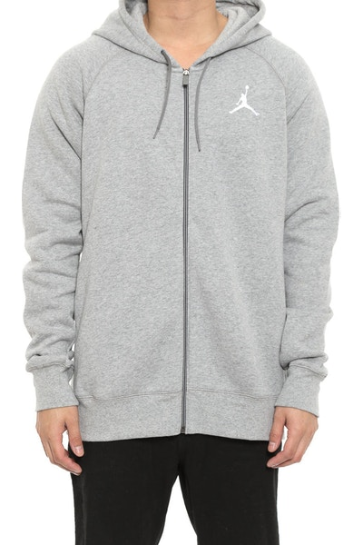 Flight Hoodie Dark Grey Heath