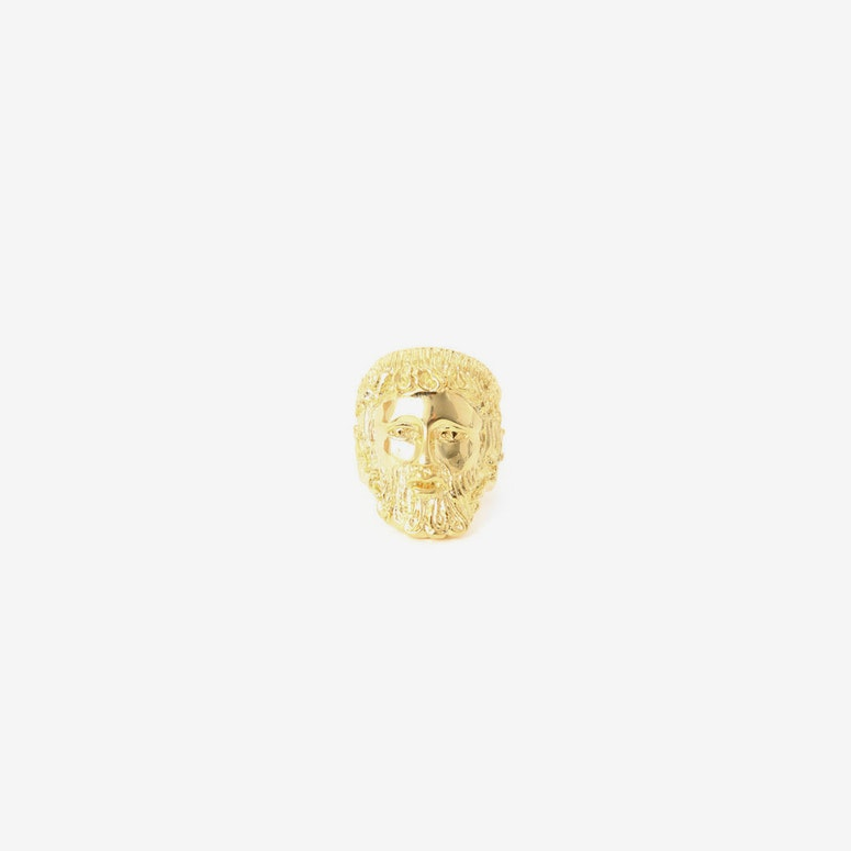 Poseidon Ring Gold