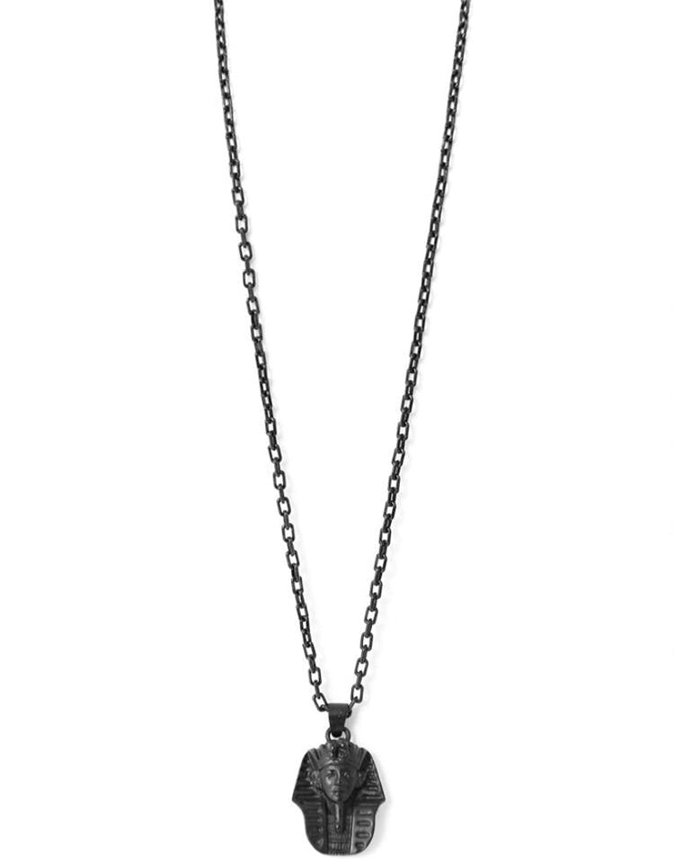 Micro King Tut Necklace Black