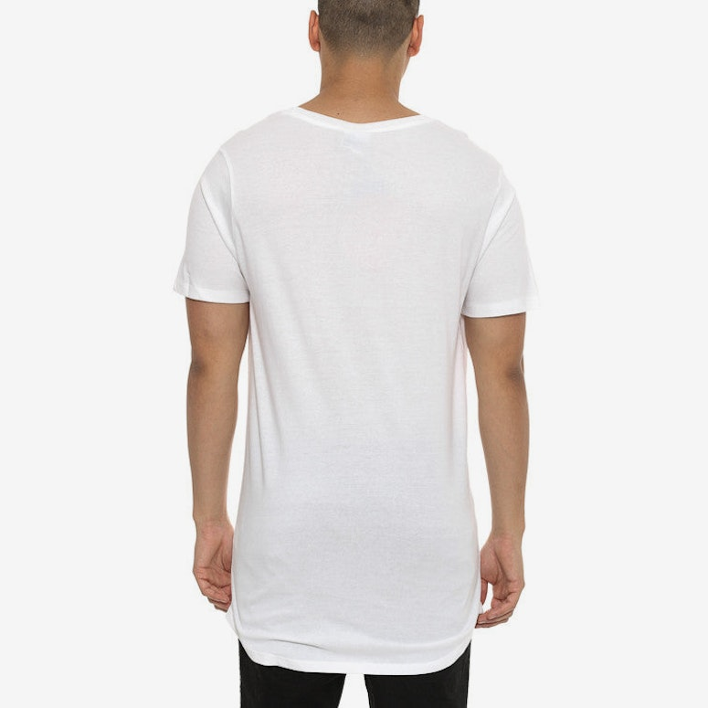 Reef Dished Tee White/black