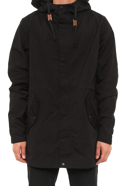 Zoo York Curbside Anorak Jacket Black