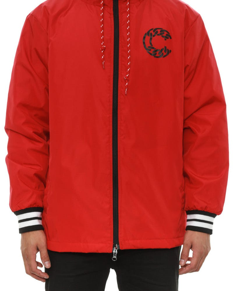 Brigand Anorak Jacket Red