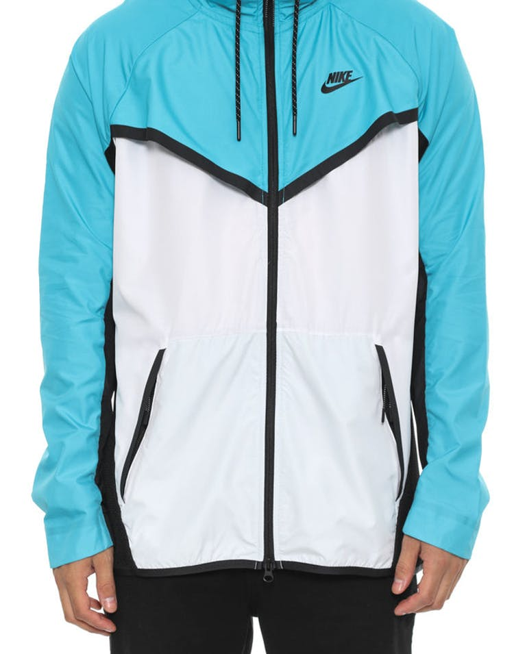 f3607ee86495 Nike Tech Hypermesh Windrunner White blue blac – Culture Kings