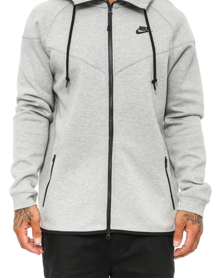 34d31a954a66 Nike Tech Fleece Windrunner-1m Grey black – Culture Kings