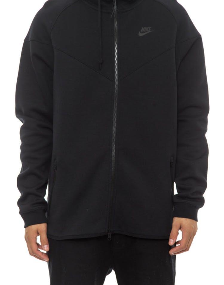 669339d3 Nike Tech Fleece Windrunner-1m Black/black/bla – Culture Kings