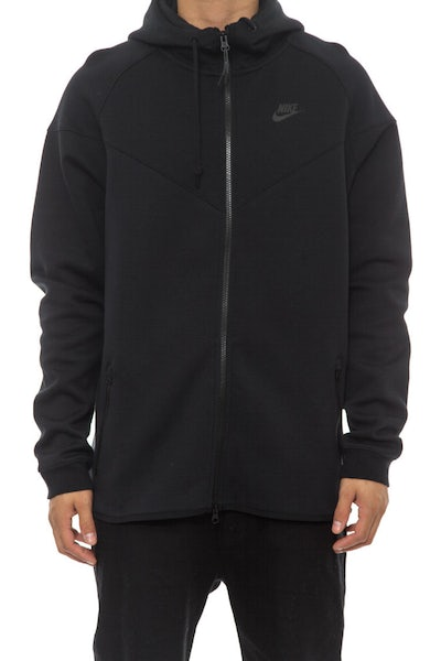 Tech Fleece Windrunner-1m Black/black/bla