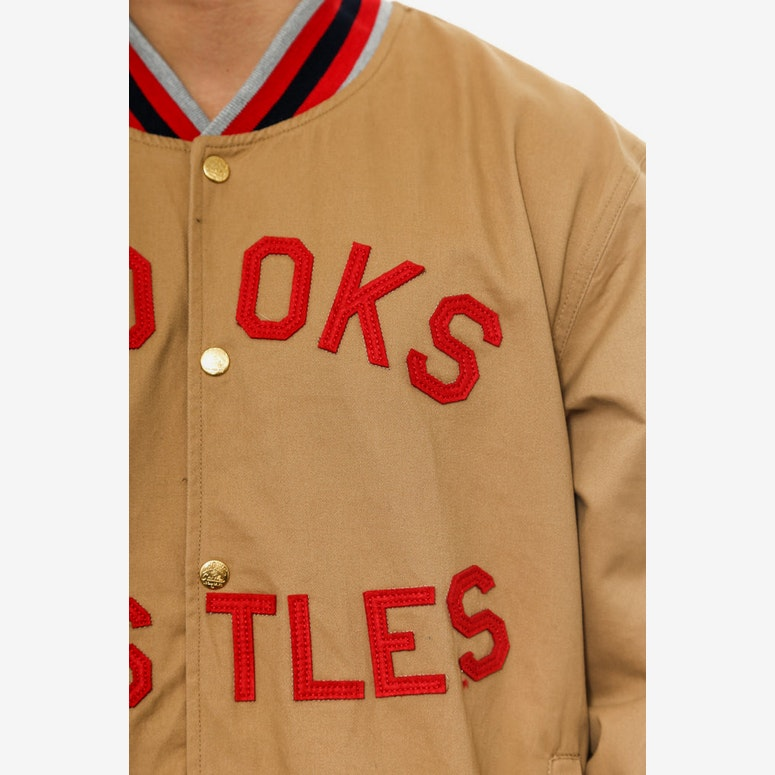 Sportsman Stadium Jacket Khaki